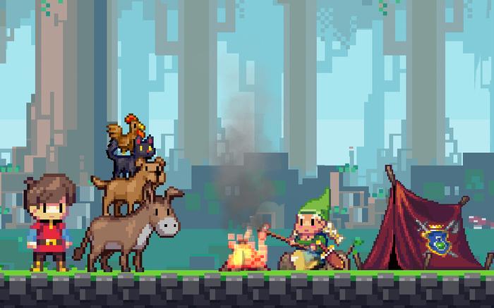 Игра бывших сотрудников WayForward расскажет о королевстве пикселей - Изображение 1