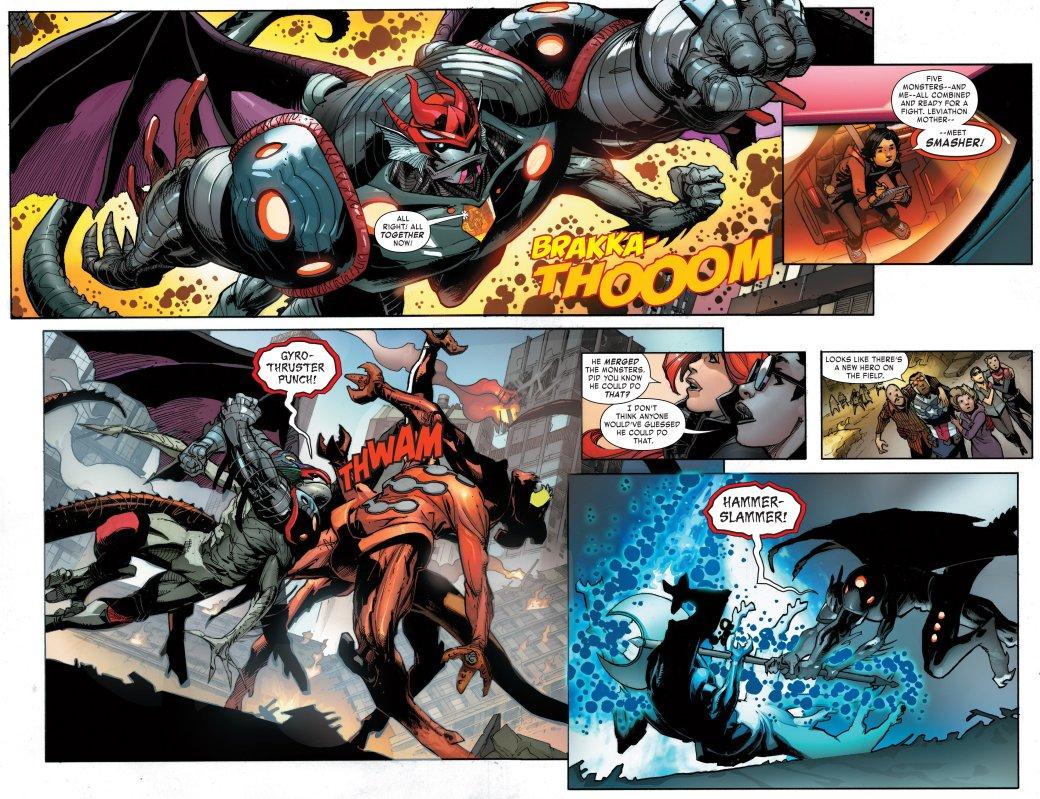 Финал Monsters Unleashed: Супергерои победили, монстры проиграли. Ура? - Изображение 3