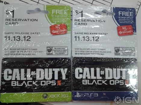 Американский магазин раскрыл дату выхода Black Ops 2 - Изображение 1
