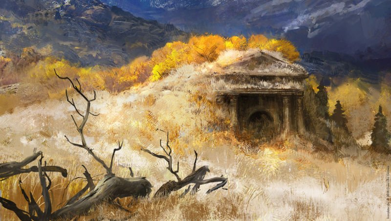 Прекрасные концепты Horizon: Zero Dawn отхудожников «Игры престолов» - Изображение 7