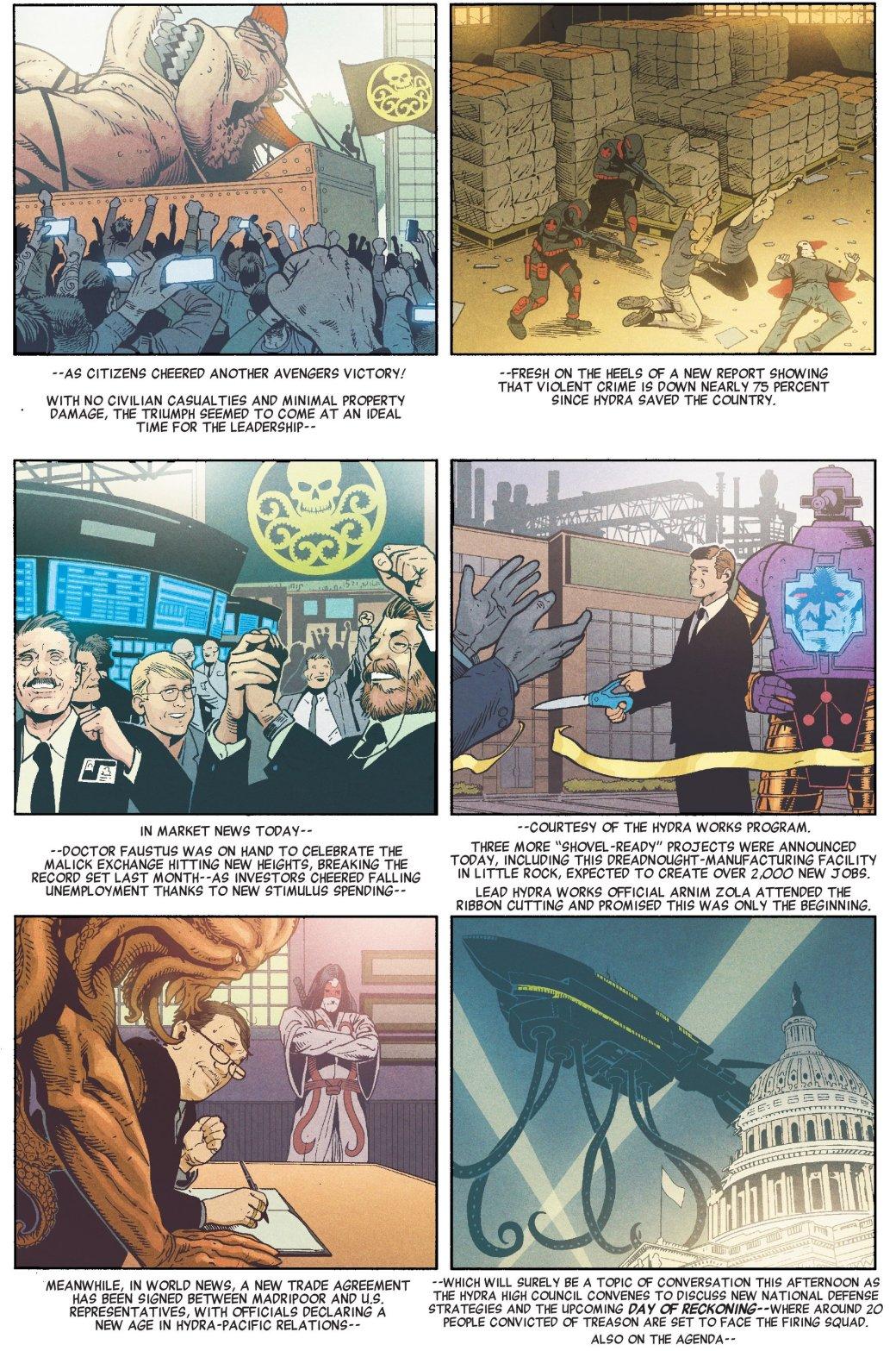 Пропаганда и концлагеря. Во что Гидра и Капитан Америка превратили США. - Изображение 10
