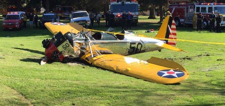 Харрисон Форд госпитализирован после аварийной посадки самолета - Изображение 1