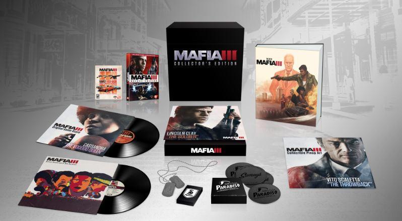 Раскрыто содержание коллекционного издания Mafia 3 - Изображение 1