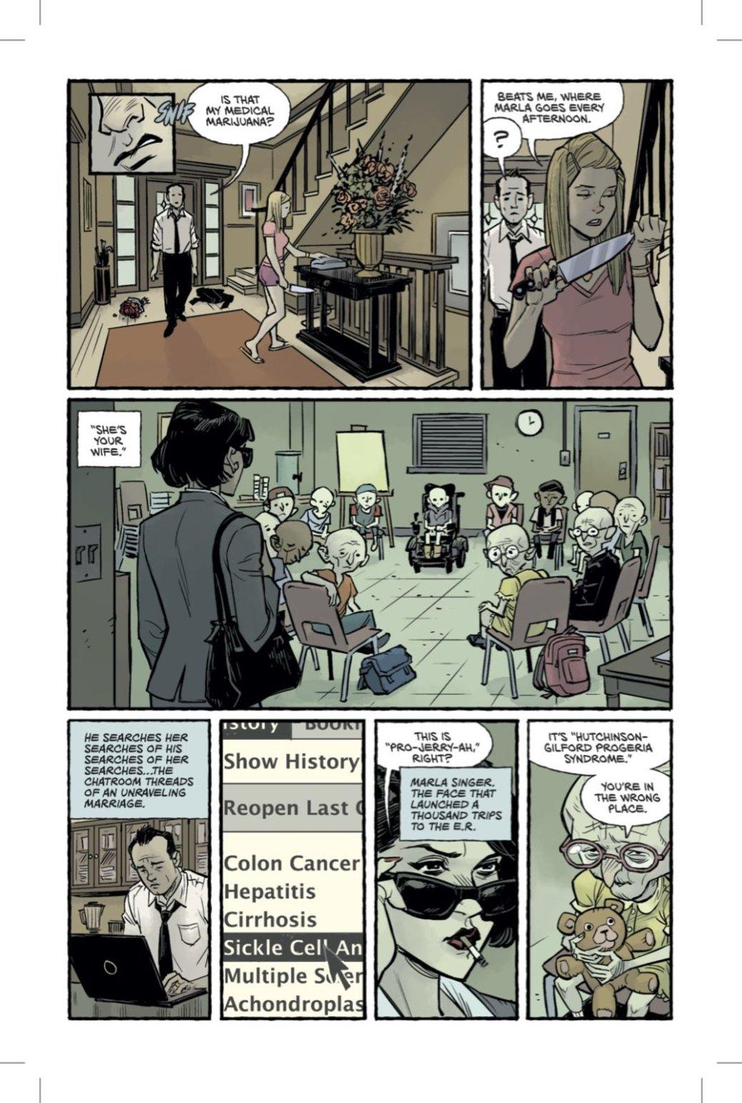 Вышли первые 6 страниц «Бойцовского клуба 2», и они не впечатляют - Изображение 6