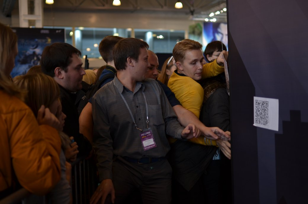 Фотоотчет с «Игромира» и Comic Con Russia, день 3 – Миша Коллинз - Изображение 29