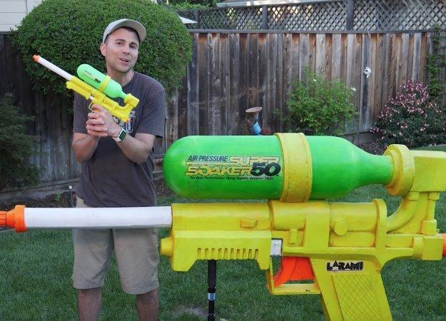 Специалист изNASA сконструировал немалый водяной пистолет