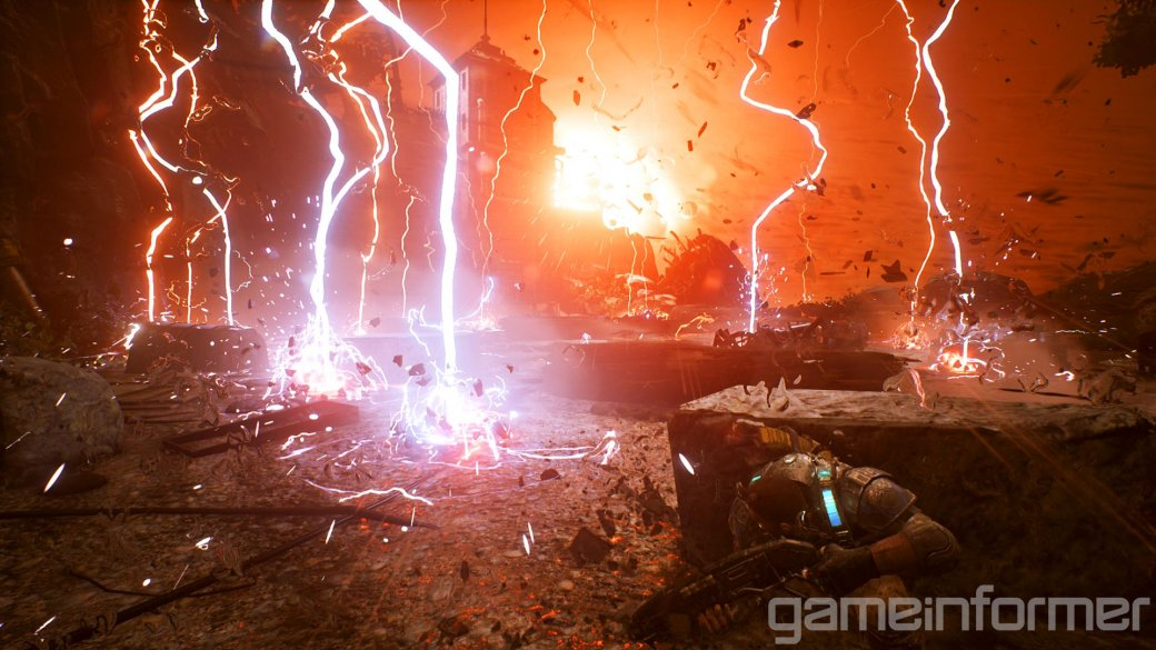 Разработчики Gears of War 4 показали раннюю стадию развития дронов - Изображение 2