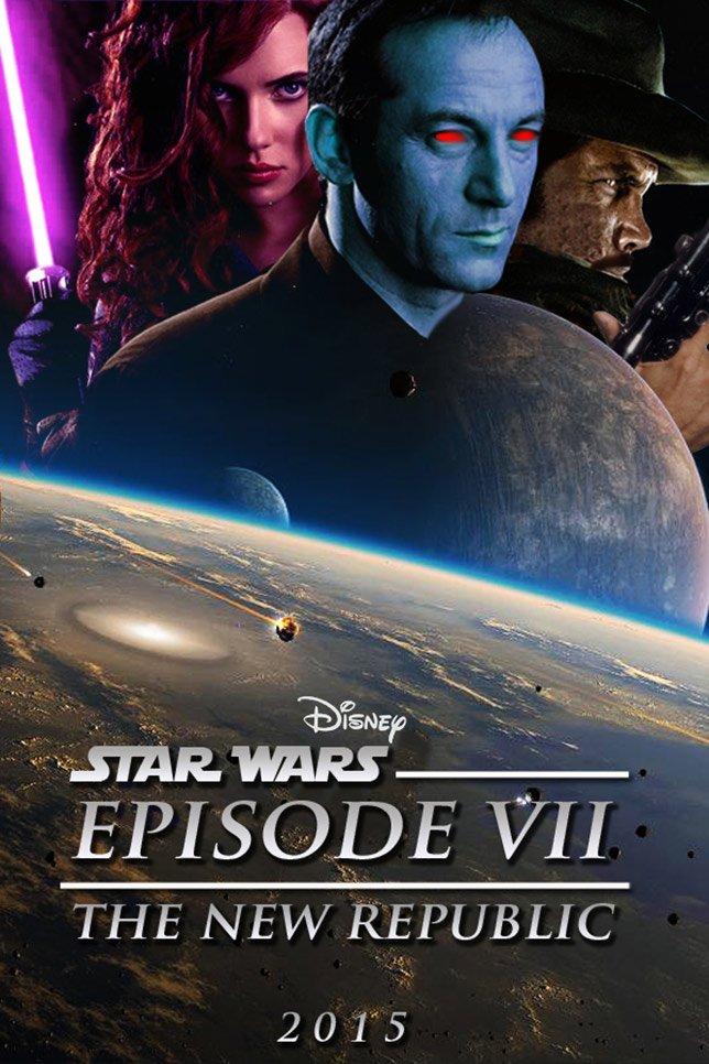 Фанатские постеры Star Wars: Episode VII - Изображение 25