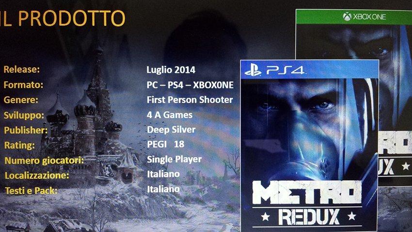 Обе части Metro переиздадут для нового поколения консолей - Изображение 1