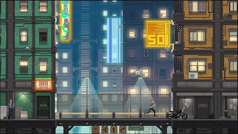 На Kickstarter запущен стелс-платформер про Сиэтл и киберпанк 90-х - Изображение 3