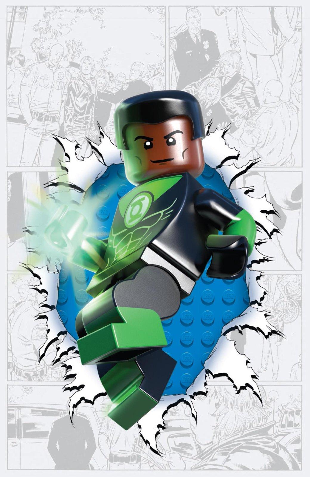 LEGO украшает комиксы DC  - Изображение 11