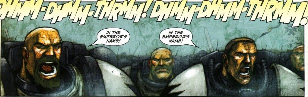 Самые крутые комиксы по Warhammer 40.000 - Изображение 2