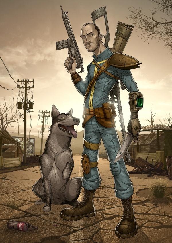 Лучший арт мира Fallout - Изображение 18