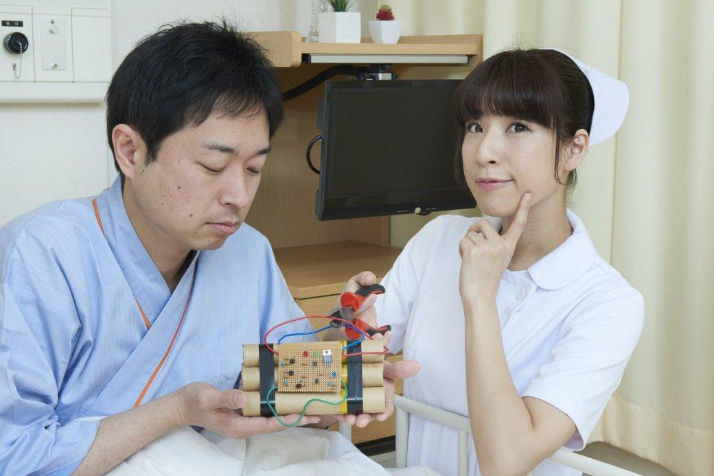 Японская медсестра делает странные вещи нафото - Изображение 2
