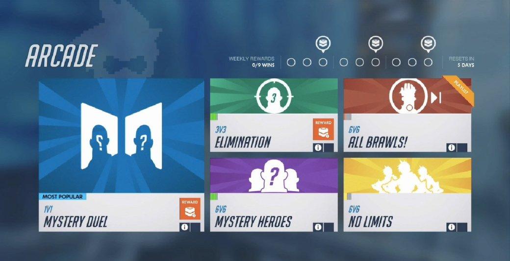 Аркада Overwatch: подробно о новых режимах 1 на 1 и 3 на 3. - Изображение 3