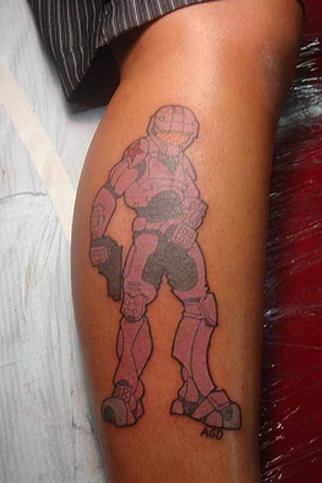Татуировки фанатов видеоигр - Изображение 14