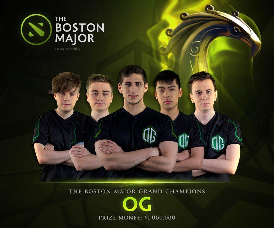 OGвышла вфинал The Boston Major 2016