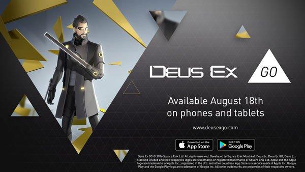 Deus Ex Go выйдет раньше Mankind Divided - Изображение 1