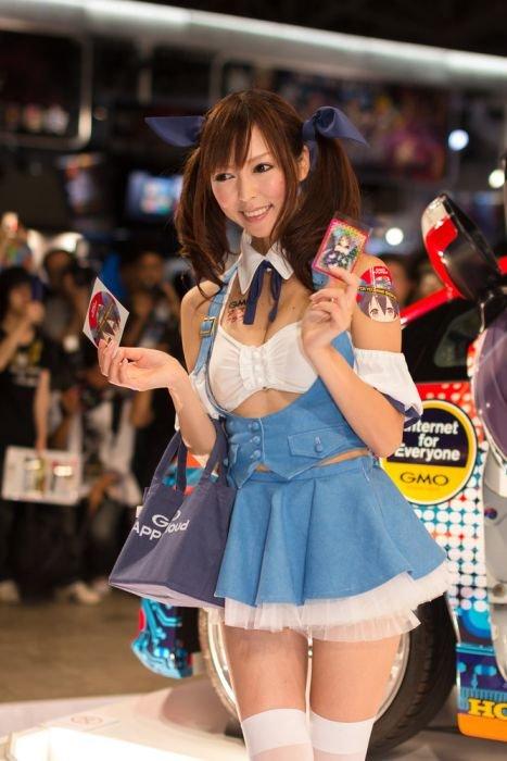 Девушки с Asia Game Show 2012 - Изображение 9