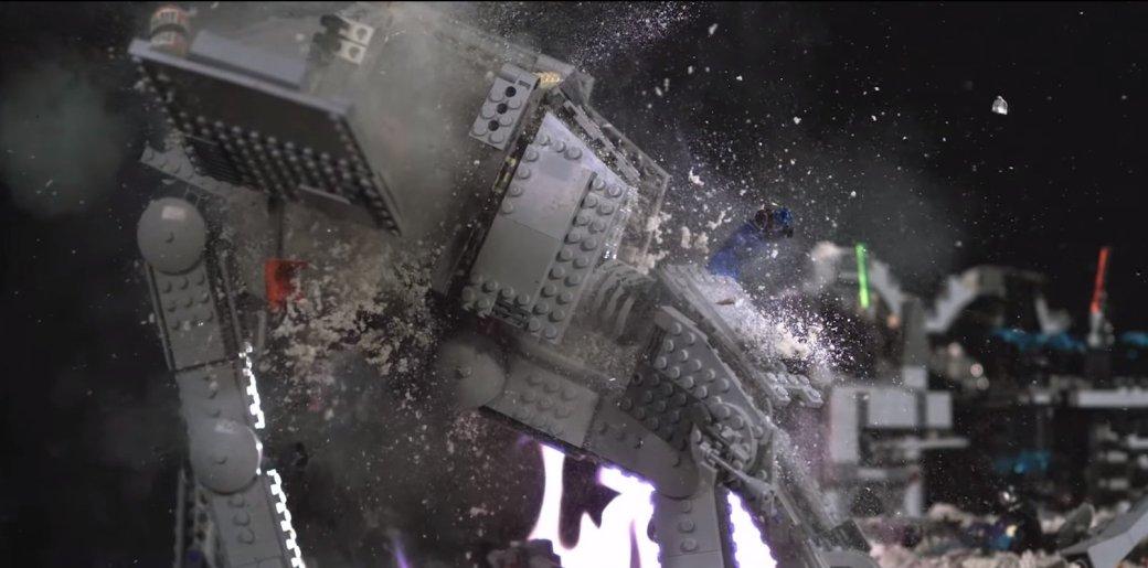 Имперские шагоходы из «Звездных войн» взрываются в slow-mo - Изображение 1