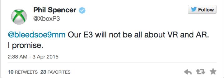 E3-презентация Microsoft не будет целиком посвящена HoloLens - Изображение 1
