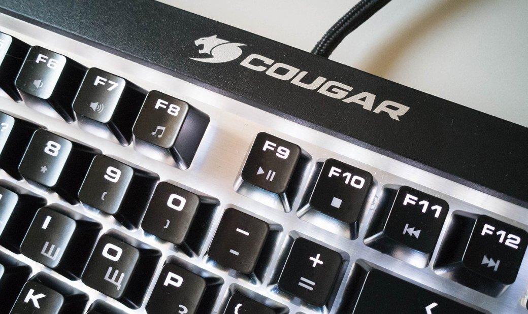 Клавиатура Cougar Attack X3 RGB— настоящие Cherry MXиничего лишнего. - Изображение 4