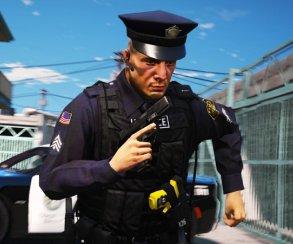 Гифка дня: коп-каскадер вGrand Theft Auto5
