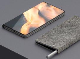 Опубликован концепт складного гаджета Microsoft Surface Note