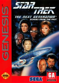Star Trek: The Next Generation - Echoes from the Past – фото обложки игры