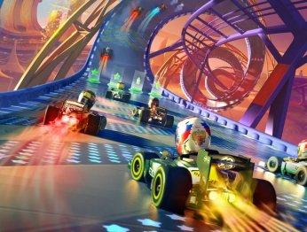 Рецензия на F1 Race Stars