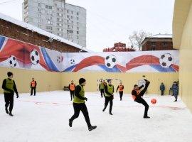 Вместо большого футбола — футбол в «Бутырке». Павел Мамаев принял участие в матче заключенных