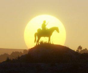 Гифка дня: несамая дружелюбная лошадь вRed Dead Redemption2