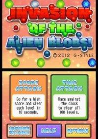 Invasion of the Alien Blobs! – фото обложки игры