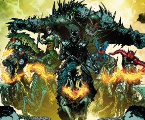Вкомиксе Dark Nights: Metal представили 53 вселенную, иона населена разумными приматами!