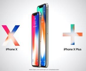 Еще больше! Появились первые рендеры iPhone X Plus