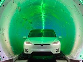 Илон Маск представил скоростной тоннель под Лос-Анджелесом. Для теста использовали Tesla Model X