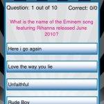 Скриншот Rihanna Quizzle – Изображение 1