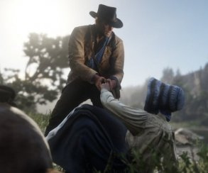 Игрок изРиги слил вСеть живой геймплей Red Dead Redemption2