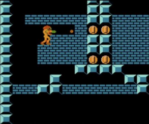 Самус из Metroid собирает монетки на снимках из NES Remix 2