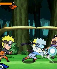 Naruto SD Powerful Shippuden – фото обложки игры