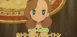 Lady Layton: The Conspiracy of King Millionaire Ariadne. Официальный трейлер