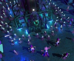 Трущобы, лазеры икульт: анонсирована киберпанк-стратегия Re-Legion