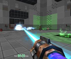 Собери шутер сам: Gunscape объединяет Minecraft и Quake