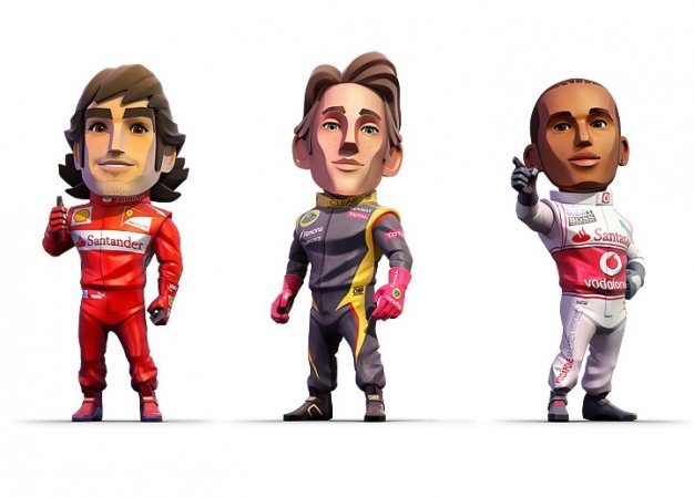 Сейчас на PS Plus: F1 Race Stars