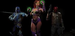 Injustice 2. Демонстрация Starfire