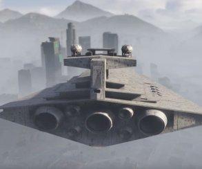 «Пробуждение модов»: звездолеты в GTA 5 и не только