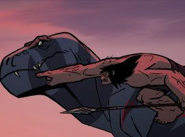 Primal— очень кровавый мультфильм опервобытном человеке отавтора «Самурая Джека»