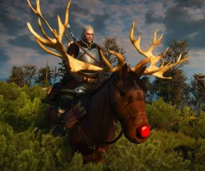 Гифка дня: самый лучший охотник наоленей вThe Witcher 3: Wild Hunt