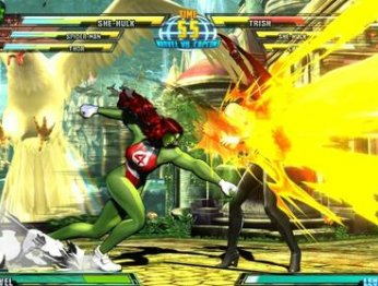 Marvel vs. Capcom 3: Fate of Two Worlds. X-Man vs. Streer Fighter. Превью
