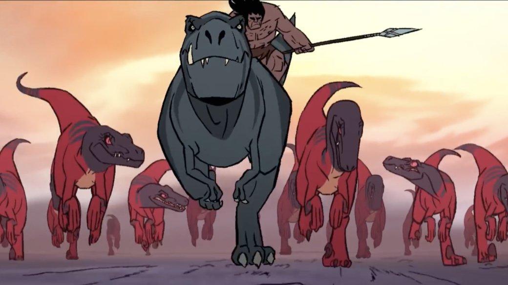 Primal— очень кровавый мультфильм опервобытном человеке отавтора «Самурая Джека» | Канобу - Изображение 2999